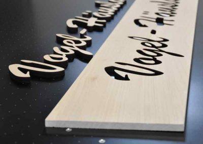 Holzschneiden | Laserschneiden