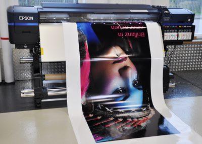 Digitaldruck mit Epson bei LASERunit