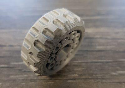 3D-Druck/ Kugellager/ Material PLA/ Schichthöhe 0,2mm